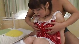 Playsome hottie Yurika Goto got her gash licked and then she got fucked like never previous to
